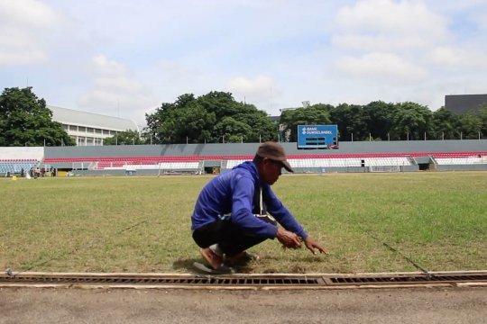 Progres renovasi Stadion Madya Bumi Sriwijaya capai 60 persen