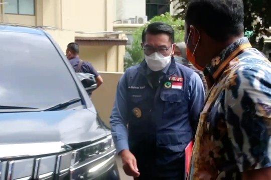 Ridwan Kamil penuhi panggilan Bareskrim Mabes Polri terkait kerumunan RS