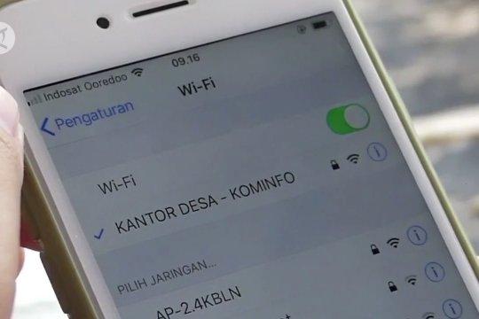 12.548 desa akan terhubung jaringan 4G tahun 2022
