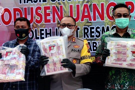 Bank Indonesia ungkap temuan uang palsu