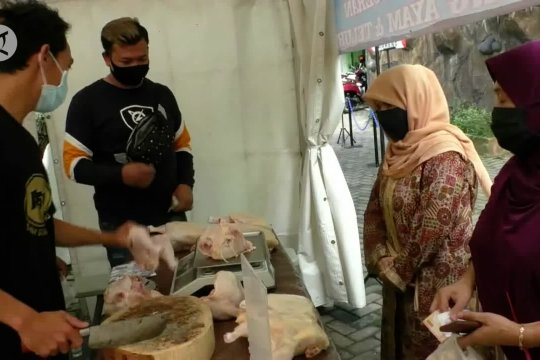 Diskopindag Kota Malang gelar operasi pasar jelang akhir tahun