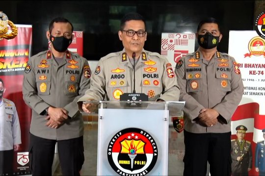 Karena tak tegakkan protokol kesehatan, Kapolda Metro Jaya dan Jabar dicopot