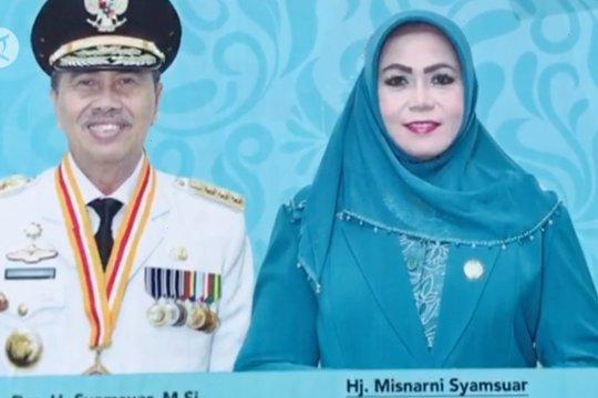 Istri Gubernur Riau Misnarni Syamsuar terkonfirmasi positif COVID-19