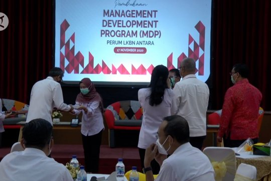 LKBN Antara tingkatkan kepemimpinan melalui pelatihan MDP