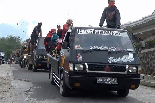 Petugas mulai evakuasi 450 warga lereng Gunung Merapi