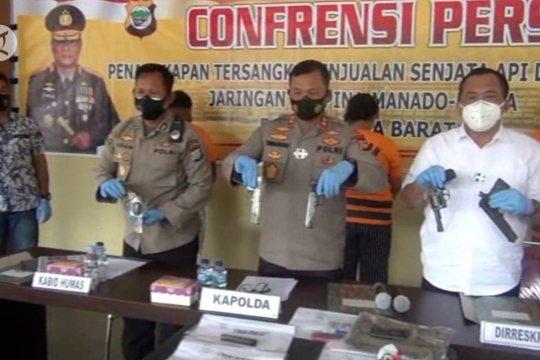 Polda Papua Barat tangkap tiga pelaku penjual senjata api ilegal