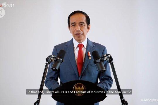Presiden Jokowi promosikan Omnibus Law di KTT APEC