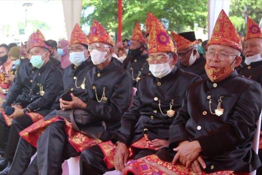 Gubernur canangkan topi tanjak sebagai identitas Sumsel