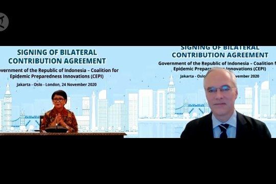 Indonesia jalin kerja sama pengembangan vaksin COVID-19 dengan CEPI