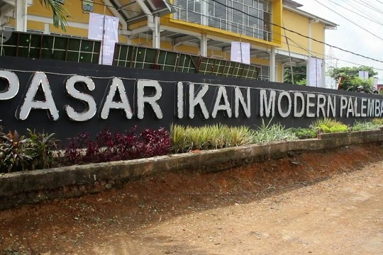 Pertama di Sumatera, Palembang miliki pasar ikan modern