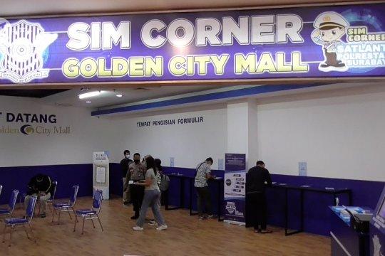Polrestabes Surabaya buka pelayanan SIM di Golden City Mall