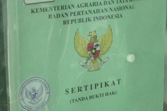 BPN Batang sahkan 25 ribu sertifikat tanah