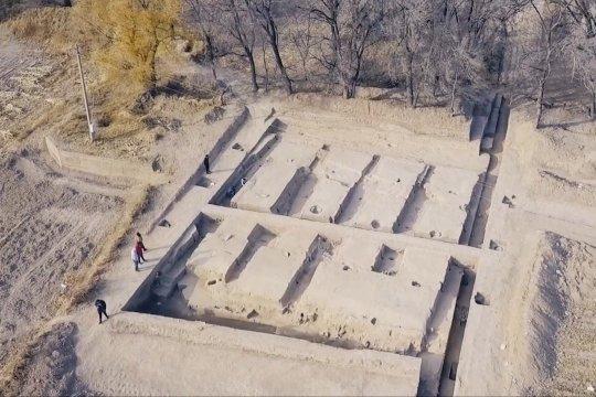 Lumbung berusia 2.000 tahun ditemukan di Mongolia Dalam