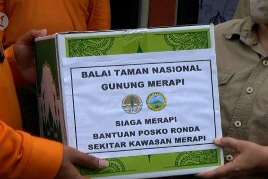 TNGM DIY distribusikan bantuan logistik ke 134 posko Merapi