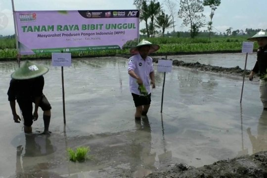 ACT Malang aktifkan program tanam raya bibit unggul
