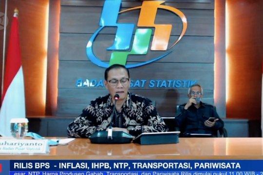 BPS catat inflasi 0,07% selama Oktober