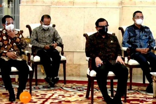 Edhy Prabowo tak hadir dalam penyerahan DIPA di Istana Negara