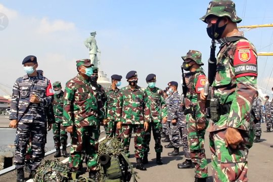 LatopratminAL dukung latihan antar kecabangan Kartika Yudha TNI