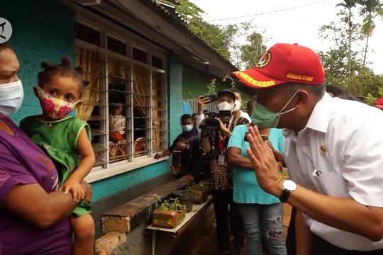 Menko PMK tinjau penanganan stunting di Jayapura