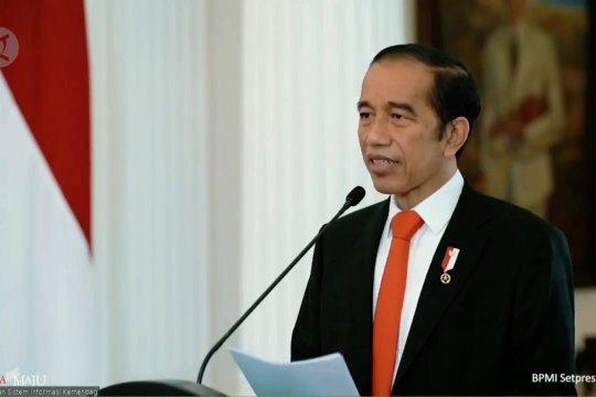 Pesan Jokowi untuk pemulihan ekonomi perdagangan nasional pasca pandemi