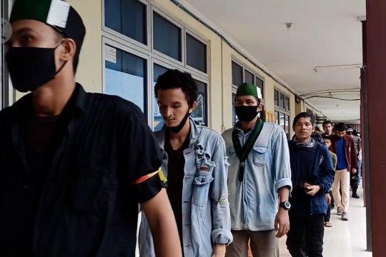 Polisi amankan 18 pelaku kerusuhan di Kantor Gubernur Babel