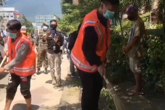 Sanksi bagi  warga Kota Palu yang anggap sepele protokol kesehatan