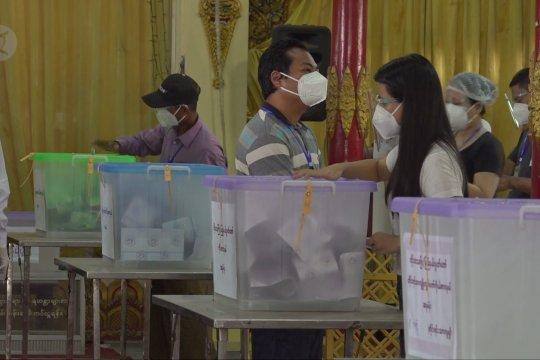 Myanmar sukses rampungkan pemungutan suara pemilu