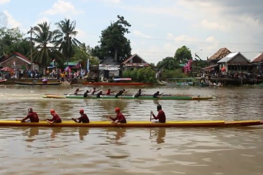 Utamakan prokes, Pemkot Palembang gelar kompetisi Bidar Mini