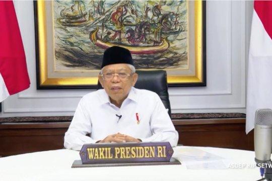 Wapres sebut BMT dukung momen Pemulihan Ekonomi Nasional