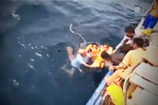 Cawabup Banggai Laut meninggal dunia dalam kecelakaan laut