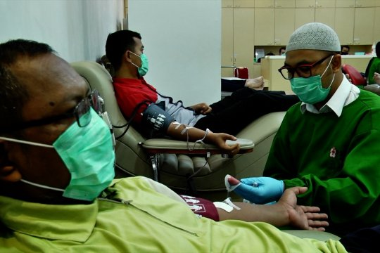 Donor darah dipastikan aman meski saat pandemi