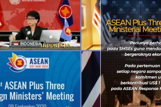 Menlu Retno: RI & ASEAN sambut baik terpilihnya Joe Biden