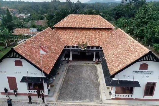 Rumah pengasingan para pahlawan di Pulau Bangka