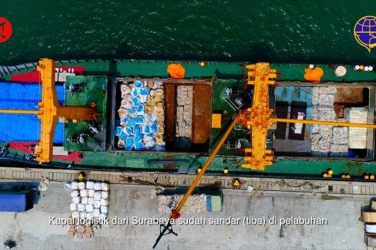 Pemerintah jamin kelancaran pasokan logistik ke seluruh wilayah Indonesia
