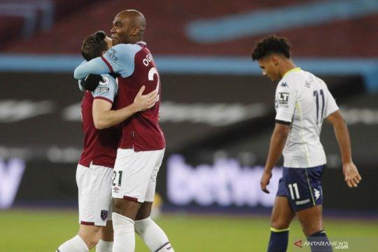 Liga Inggris : West Ham vs Aston Villa 2-1