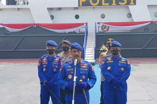HUT ke 70 Korpolairud Kapolri ingatkan kawal Pilkada Serentak