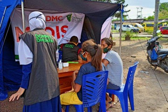 Dompet Dhuafa-DMC beri pelayanan medis gratis warga terdampak erupsi