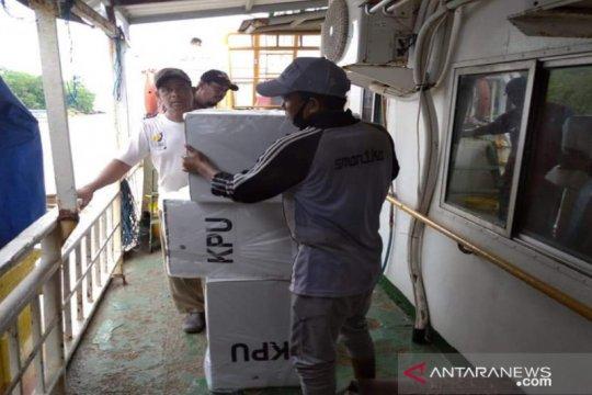 KPU Sumenep mulai distribusikan logistik pilkada ke kepulauan