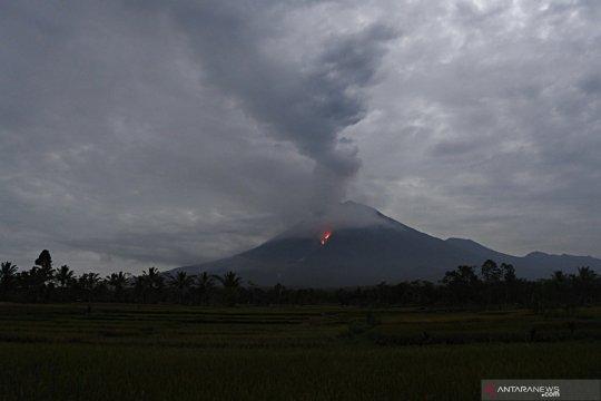 Gunung Semeru erupsi