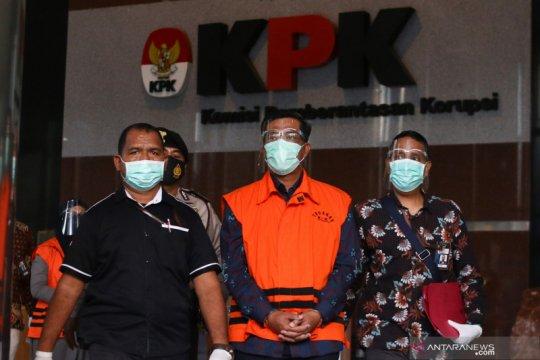 Penahanan tersangka kasus dugaan korupsi Bakamla