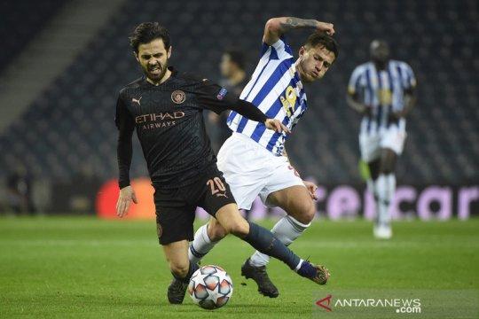 Porto dampingi City ke babak gugur, Marseille petik kemenangan perdana
