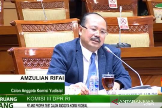 Ketua Ombudsman RI bicara penyadapan saat diuji jadi calon anggota KY
