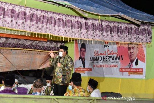 Ahmad Heryawan lakukan safari kemenangan Pilkada di Sambas