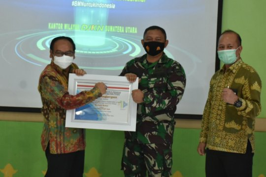 "Zidam I/BB raih ""runner up"" di ""BMN Awards"" 2020 kategori pengamanan"