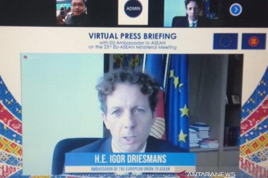 Uni Eropa, ASEAN perkuat kerja sama vaksin jalur multilateral