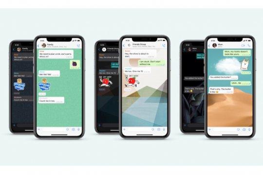 """WhatsApp punya pembaruan fitur, salah satunya peningkatan """"Wallpaper"""""""