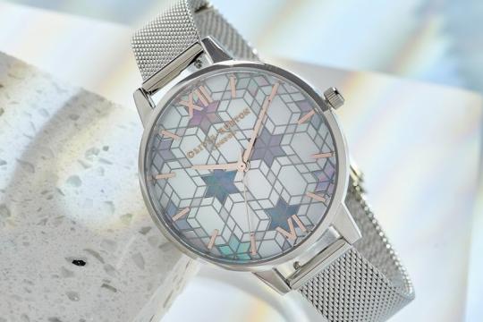 Kristal salju inspirasi koleksi baru jam tangan