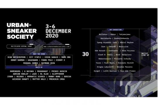 Urban Sneaker Society 2020 dilaksanakan secara virtual 3-6 Desember