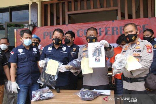 Polisi tangkap empat pelaku tawuran bersenjata air keras
