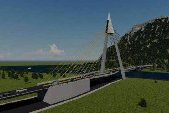 Kementerian PUPR mulai konstruksi Jembatan Aek Tano Ponggol Danau Toba